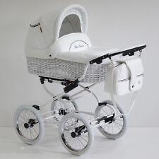 SCARLETT Wicker, Retro Travel System,Pram Baby Fashion 2in1-3n1 +FREE RAIN COVER