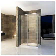 Box doccia 8mm anta fissa porta saloon vetro trasparente varie misure|432
