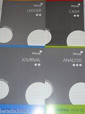 Silvine Conti a4 BOOK-scegliere tra analisi delle Scritture contabili di cassa libro contabile o tutti i 4