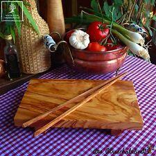 Sushi sushibrett Brett madera de olivo Madera Cortar Servir + 1x Stick