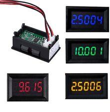 NEW LED 5 Digit DC 0-4.3000-33.000V Digital Voltmeter Voltage Meter Car Panel M