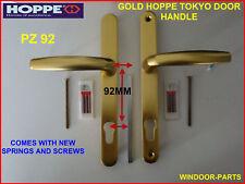 HOPPE TOKYO GOLD UPVC Porta Maniglia pz92 alta qualità