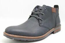 Rieker Schuhe blau Kunstleder Fleece Fußbett