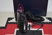 Ralph Lauren Purple Label Edward Green Paget Patent Leather Tuxedo Dress Shoes