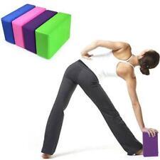 1pcs Yoga Block Brick Fitness Pilates EVA Foam Roller Exercise Equipment - SS