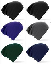 HOMME ADULTE femmes chaud Toucher doux Tricoté ACRYLIQUE bonnet souple