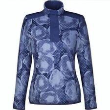 ADIDAS GOLF ClimaWarm Half Zip Blue Pullover Jacket NEW Womens XS S M L XL