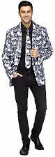 Adult Skull Jacket & Tie Bones Skeleton Costume