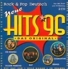 Various Neue Hits'96 Rock & Pop Deutsch Doppel-CD Rar