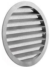 Lüftungsgitter Wickelfalzrohr Abluftgitter Insektennetz Aluminium Rund Gitter