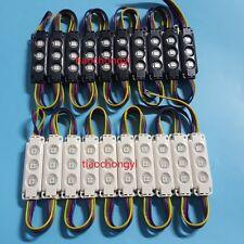 1-100X waterproof RGB 5050 storefront window led module light sign strip string