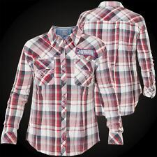 AFFLICTION Damen Hemd Sweet Afternoon Rot