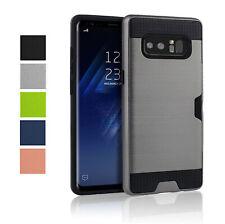 Pochette de protection pour Samsung Galaxy Note 8 N950 fente CARTE Coque crédit