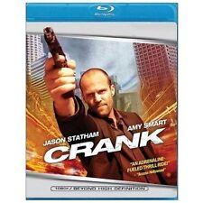 "Jason Statham in ""CRANK"" Hyper-Action Widescreen BLU RAY 2007 Amy Smart,"