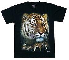 T-Shirt Tiger,Gr.S M L XL,Afrika Indien Safari, Raubkatze Raubtier,Zoo Tigre