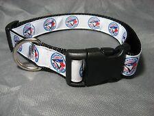 """Toronto Blue Jays TM 1"""" Adj Dog Collar"""