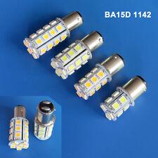1/10x Car Light BA15D 1142 AC/DC 12-24V 13/18/24/30 5050 SMD LED Bulb Lamp #D