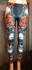 Rose Skull Legging