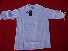 Adidas Hombres Manga Larga Camiseta Entrenamiento Blanco Olympia running