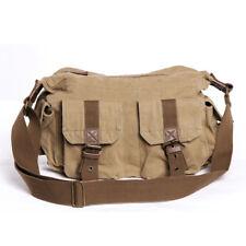 Military shoulder diagonal bag canvas sports travel tools outdoor riding bag