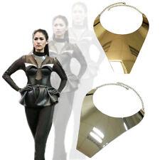 COLLARE Collana a Bavaglino Spessi Stile Grande Dichiarazione Collana in Oro o Argento