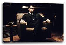 Lein-Wand-Bild: Filmplakat Filmmotiv Der Pate Al Pacino Michael Corleone auf Ses