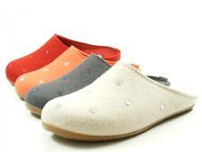 Haflinger 484012 Everest Noblesse Damen Hausschuhe Pantoffeln Wolle
