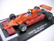 Fly Lotus 78 F1 Japan 1977Gunnar Nilsson für Autorennbahn 1:32 Slotcar