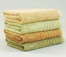 Organic Cotton Elegance Towel Natural Colour 600GSM Multi-Colours & Sizes