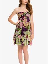 $128 NWT MARCIANO GUESS CAROL SILK DRESS SIZE S M SEXY HOT!!