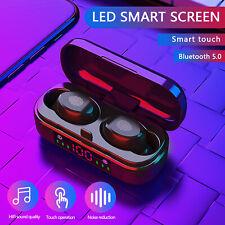Bluetooth 5.0 TWS Wireless Headset Earbuds Earphones Mini Stereo Headphones IPX7