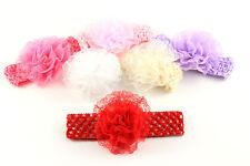 Stirnband Haarband Haarschmuck Blume Blüte Spitze Baby Mädchen K151