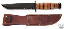 Ka-Bar Knives Short USMC KaBar Serrated Edge 1252 NEW