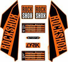 ROCKSHOX LYRIC 2016 Style Decals Stickers