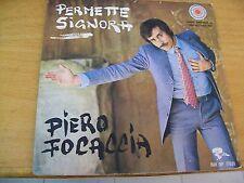 """PIERO FOCACCIA PERMETTE SIGNORA  7"""""""