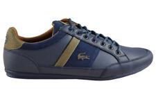 NEU SCHUHE  LACOSTE CHAYMON 417 1 CAM  NVY/NVY Herrenschuhe Sneaker Leder