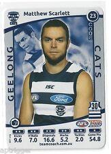 2012 Teamcoach SILVER (23) Matthew SCARLETT Geelong