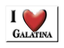 CALAMITA PUGLIA ITALIA FRIDGE MAGNET MAGNETE SOUVENIR I LOVE GALATINA (LE)