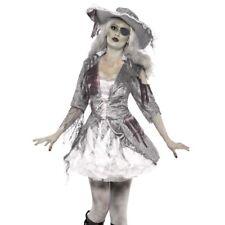 Vestito per Halloween Nave Fantasma Tesroro Dei Pirati Costume da Smiffys Nuovo