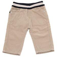 9637U pantalone bimbo ARMANI BABY beige velluto a coste trouser pant kid
