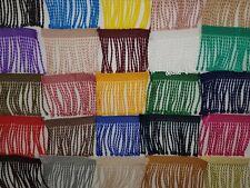 1m Fringe for dance dress,scarves,curtains, etc. width - 60mm 29 - Colours