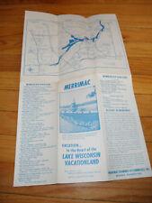 Vintage Brochure for Merrimac Wisconsin Dells
