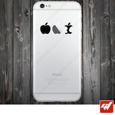 Sticker Autocollant Apple Iphone 4 5 6  Lot de 2X - DE LA POMME AU TROGNON IPH4