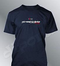 T-shirt personalizzato Street Triple 675 S M L XL XXL uomo moto