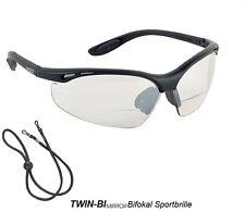 twin-bi ESPEJO Bifocal Gafas deportivas - incl. EU