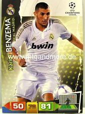Adrenalyn XL Champions League 11/12 - Karim Benzema