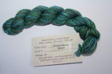 Thread Gatherer Shepherd's Silk 50% Wool 50% Silk # 021 Forest of Greens
