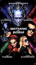 Batman & Robin (1997, VHS)