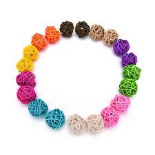 10X3cm/5cm Rattan Ball Wedding Party Ornament Craft Dried Balls Festival-Decor T