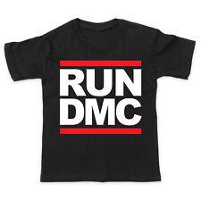 Run DMC LOGO-HIP HOP MUSICA-ragazzi ragazze bambino t-shirt